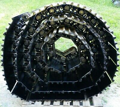 Caterpillar 336el 330dl 330cl Track 48 Link Chain With Mounted Pads 95