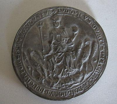 Siegel - Petschaft Staatsarchiv München 9cm Durchmesser