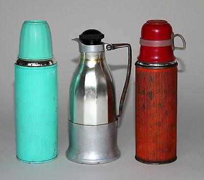 3x alte Thermosflasche Thermosflaschen Thermos - . - (252)