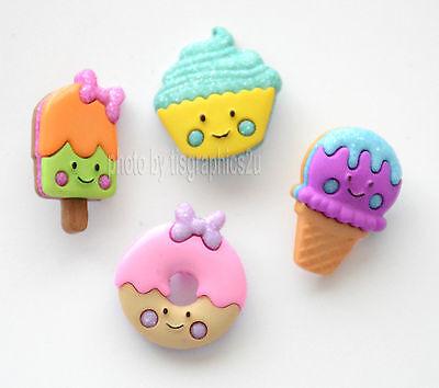 So Sweet / Dress It Up Buttons Jesse James / Cupcake ~ Ice Cream ~ Donut James Ice Cream