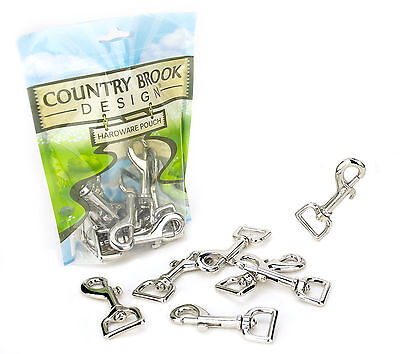 10 - Country Brook Design 3/4 Inch Swivel Snap Hooks - $12.95