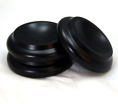 """Brown 1-5//8/"""" inside Lenght Gemm Piano Rubber Caster Cups"""