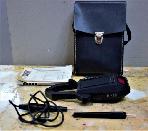 TIF Instruments 1000 AC Digital Clamp-On-Volt-Ohm-Ammeter/ Probe&Case