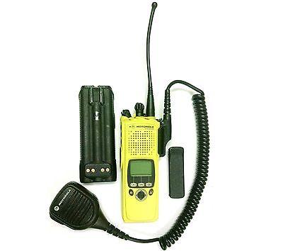 Motorola Xts 5000r H18ucf9pw6an Rugged Smartzone Radio W Batteryclip Mic