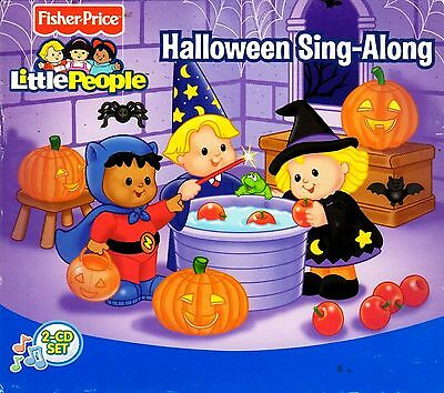 Fisher-Price LITTLE PEOPLE HALLOWEEN KIDS SING-ALONG with BONUS SPOOKY SOUNDS CD - Halloween Sing Along Cd