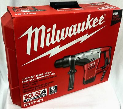 Milwaukee 5317-21 1-916 In. Sds-max Rotary Hammer - 045242223879