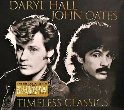 Daryl Hall & John Oates NEW! CD BEST OF 18 HITS Greatest ,Original,Rich