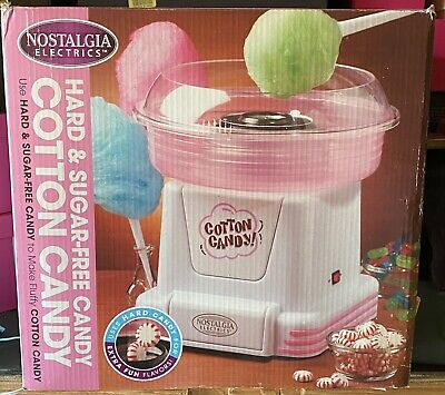 Nostalgia Cotton Candy Machine Maker Electric Floss Carnival Party Hard Candy
