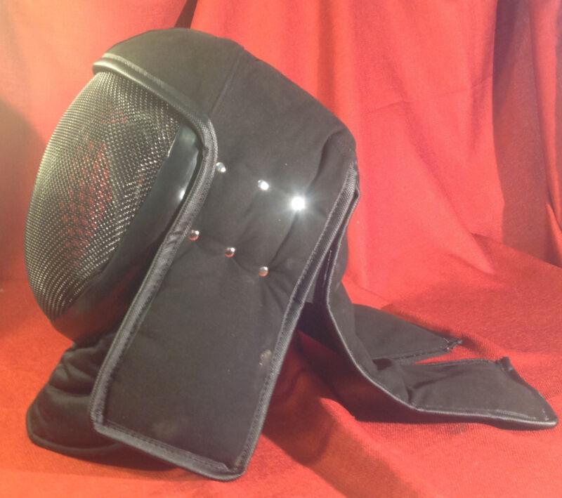 Superior HEMA/WMA PROTECTIVE HELMET w/ Back Protector SCA Rapier Mask