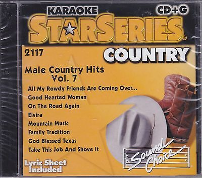 Male Country Hits, Vol. 7 [Sound Dance] by Karaoke (CD, Aug-1997, -