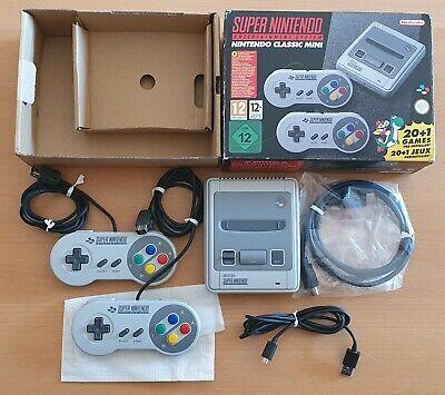 NINTENDO Classic Mini Super Nintendo 21 Giochi 2 Controller HDMI Italia