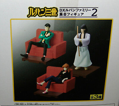 NEW Banpresto Lupin the Third DX FAMILY COLLECTIVE FIGURE SERIES #2 COMPLETE 3pc
