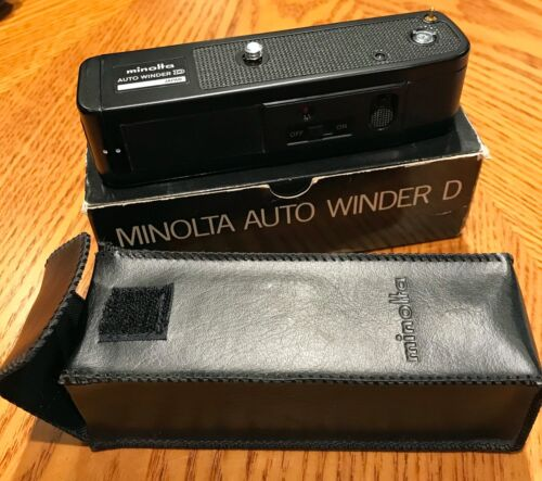 (2) Minolta Auto Winder D