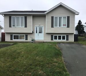 3 BEDROOM MAIN FLOOR IN COMMONWEALTH GARDENS IN MT. PEARL $1100