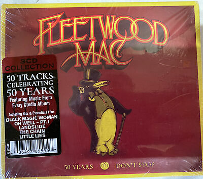 Fleetwood Mac | 50 Years - Don't Stop | 3 CD Collection