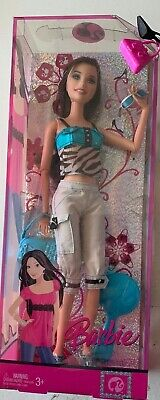 Barbie  Motto w/Charm Fashion Fever RAQUELLE Satin Safari 2007 NRFB Rare