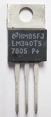 Lot Of 35 National Lm340t5 Semiconductor
