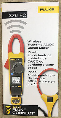 Fluke 376 Fc True-rms Acdc Clamp Meter With Iflex  New In Box - Msrp 475
