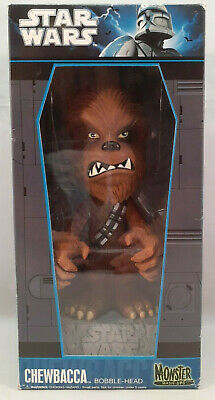 "Funko Star Wars ""Chewbacca"" Monster Mash-Ups Bobble Head~2010~BRAND NEW IN BOX!"