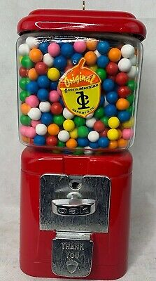 RARE Vintage 1949 Original Acorn 1 Cent Gumball Machine with Key MINT Condition
