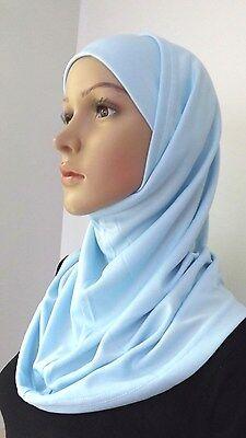 Fashion 2 Piece Amira Hijab Muslim Hijab Islamic Scarf (Many colors) .
