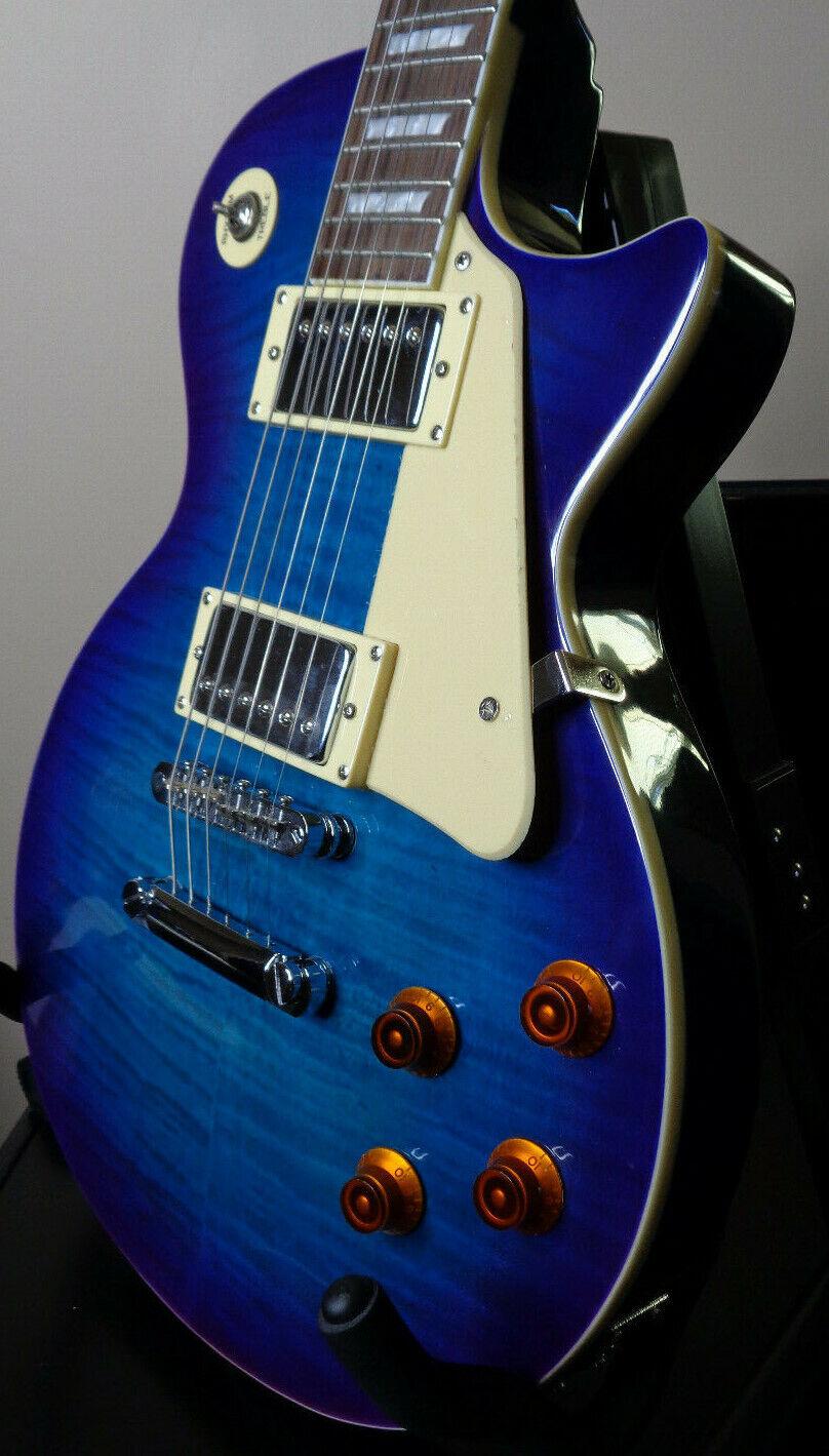 Firefly FFLPS Electric Guitar BLUEBERRY BURST New - $318.88