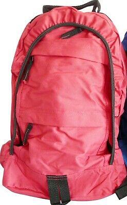 1 mochila roja diseño juvenil complementos PVP 18€ NUEVOS PREMIOS VE DESCRIPCIÓN