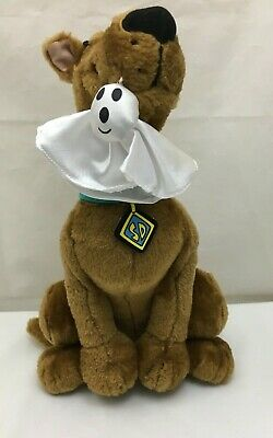 Scooby Doo Dog Halloween Ghost Mouth Warner Brothers Cartoon Network Plush 14