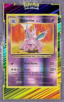 Carte Pokemon NIDORINO 44//108 Brillante Reverse XY12 Française NEUF