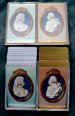 VINTAGE WEDGEWOOD FROM THE PHILADELPHIA MUSEUM OF ART 2 DECKS CARDS CONGRESS BOX