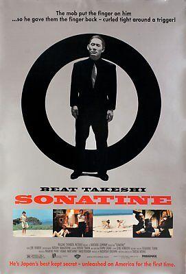 Sonatine 1999 U.S. One Sheet Poster