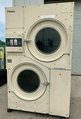 Ipsocissell Stack Dryer Coin Op 75lb208-240v 3ph 60hz Sn1606000150 Refurb