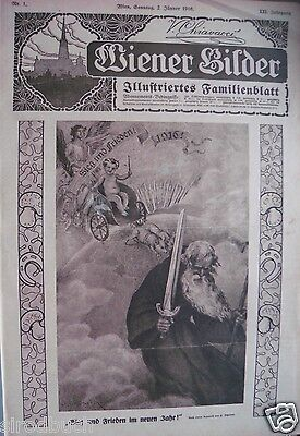 Wiener Bilder Illustriertes Familienblatt XXI. Jahrgang Nr. 1 - 52 fest gebunden