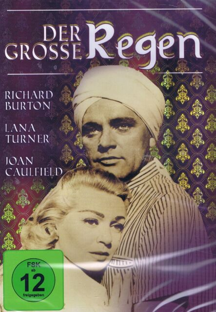 DVD NEU/OVP - Der grosse Regen - Richard Burton, Lana Turner & Joan Caulfield