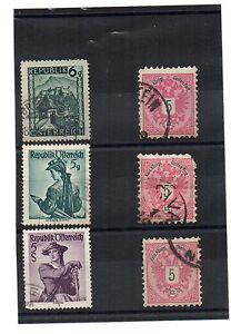 Austria, Austria, Autriche Old USED STAMPS-  mostra il titolo originale - Italia - Austria, Austria, Autriche Old USED STAMPS-  mostra il titolo originale - Italia