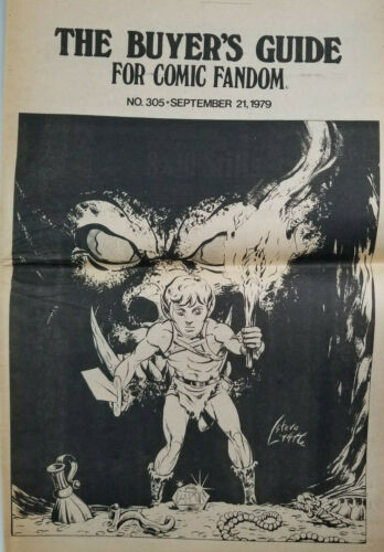 Buyers Guide For Comic Fandom #305 Sept 1979 Alan Light - Steve Lightle Cover VG