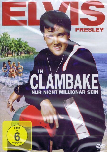 DVD - Clambake - Nur nicht Millionär sein - Elvis Presley & Shelly Fabares