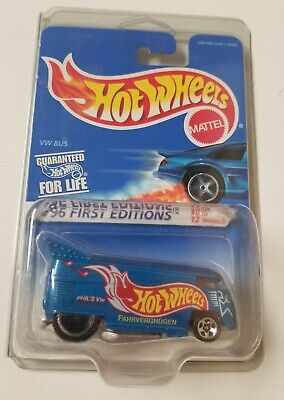 1996 First Editions Hot Wheels Commemorative Issue *VW DRAG BUS* NIP 1:64 Scale