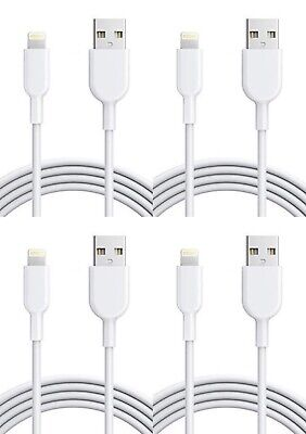 4Pack 3FT USB Cable For OEM Original Apple iPhone5 6 7 8Plus X Lightning Charger