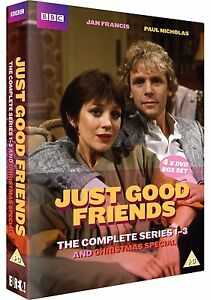 JUST GOOD FRIENDS - COMPLETE SERIES 1-3 - NEW 4 DVD SET