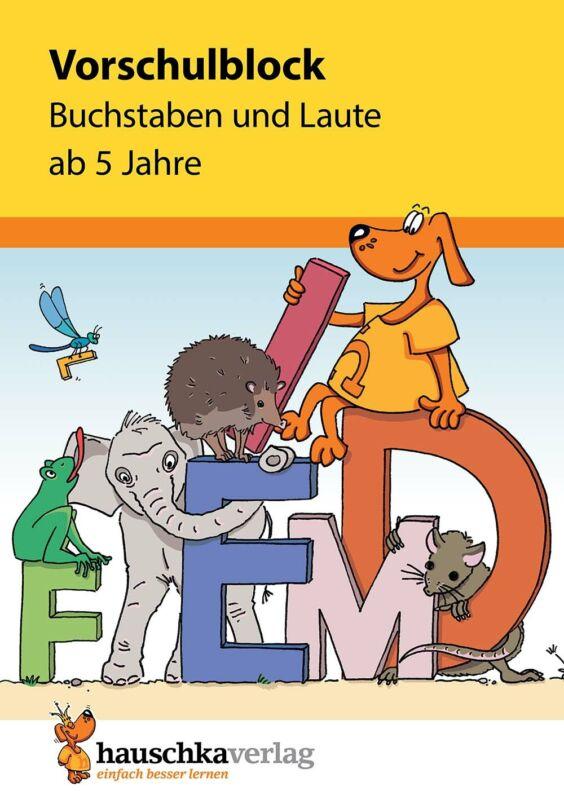 Ulrike Maier - Vorschulblock - Buchstaben und Laute