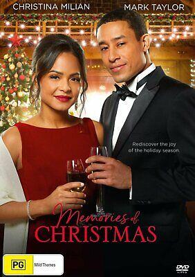 MEMORIES OF CHRISTMAS (2018) Region Free [DVD] Hallmark Channel Xmas Movie