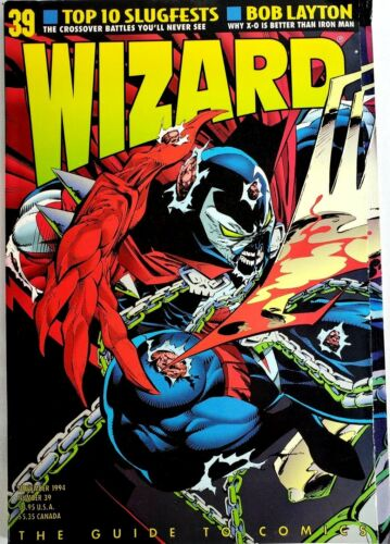 WIZARD THE GUIDE TO COMICS #39 NOVEMBER 1993