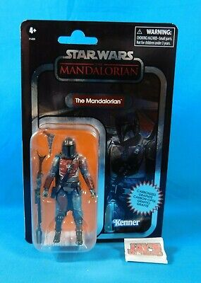 The Mandalorian 3.75 Figure Carbonized Star Wars The Vintage Collection Hasbro