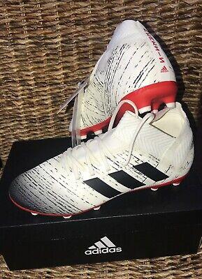 NEW Adidas Nemeziz 18.3 FG J Football Boots Boys Size UK 4. RRP £54.99
