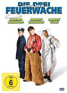 Shemp Harry Howard Larry Fine/Die drei von der Feuerwache (2012) neu u. ovp/DVD