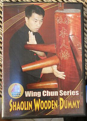 Wing Chun Wooden Dummy Techniques Training DVD Vol.7 DVD-BM007 (Near Mint)