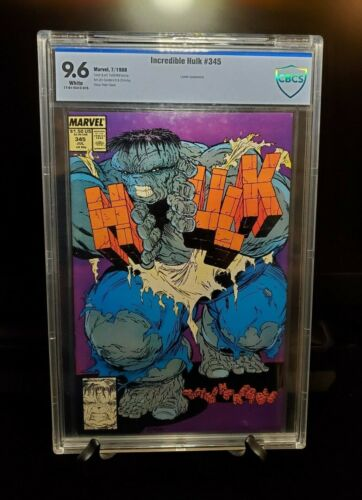 Incredible Hulk #345 CBCS 9.6 White Pages