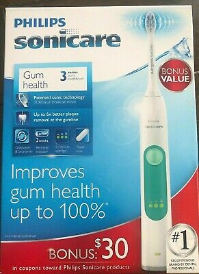 Philips Sonicare 3 Series Gum Health Electric Toothbrush HX6631/02 New in Box