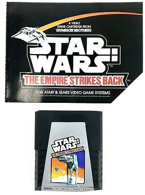 ATARI 2600 Star Wars GAME The Empire Strikes Back with Manual Parker Brothers
